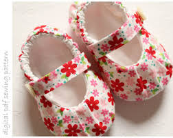 Baby Shoes Pattern New PDF Pattern For Pleated Mary Janes Sizes 4848 Baby Shoes