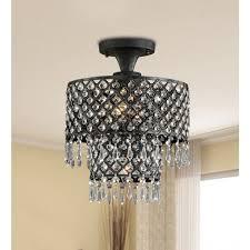 medium size of lighting modern crystal chandelier flush mount black chandelier rectangular flush mount light
