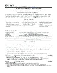 Sales Marketing Resume Adorable Marketing Director Resume 44 For Of Sample Example Manager