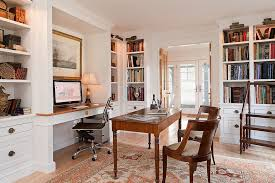 home office decorating ideas nyc. Simple Decorating Interiors View In Gallery Picture Lighting Illuminates The Open Corner  Shelves Home Office Beautifully Design Scot Throughout Home Office Decorating Ideas Nyc D