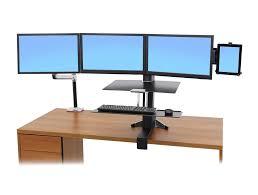 ergotron lx sit stand desk mount lcd arm