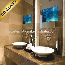 in mirror tv bathroom mirror magic mirror glass one way mirror glass bathroom mirror mirror tv