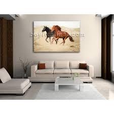 Love Bedroom Decor Large New Hd Print Wall Art On Canvas Horse Running Love Bedroom