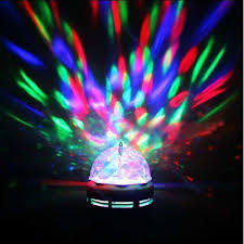 Rotating Color Light Led Rotating Light Lighting Full Color Disco Party Crystal