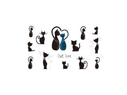 Dočasné Tetování Kočka Iv