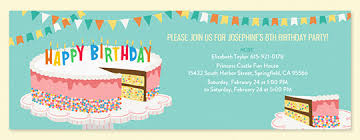 Invites Birthday Party Free Birthday Invitations Send Online Or By Text Evite