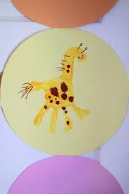 Handabdruck Bilder Gestalten Süße Ideen Für Kinder Im Kindergarten