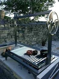 outdoor fire pit cooking grill for recycled my old charcoal into a fireplace grate indoor