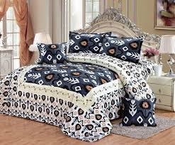 double full size cotton damask pattern multi color bedding sets