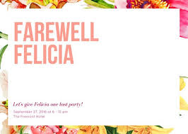 Party Templates Customize 3 999 Farewell Party Invitation Templates Online Canva
