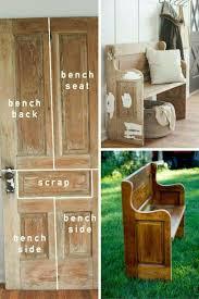 diy glitter furniture. diy pewbench from old door diy glitter furniture