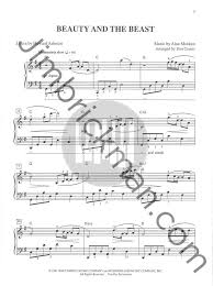 beauty and the beast sheet music the disney songbook for easy piano sheet music jim brickman music
