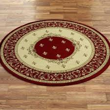 round oriental rug rugs white blue throw black cleaning boca raton area d