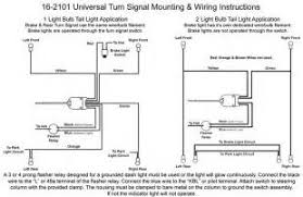 empi universal turn signal switch wiring diagram images 16 2101 column mounted universal turn signal switch