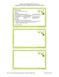 avery recipe card template recipe template 3x5