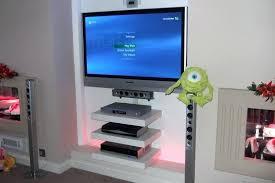 Floating Shelves For Electronics