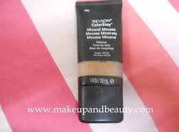 revlon colorstay mineral mousse foundation review
