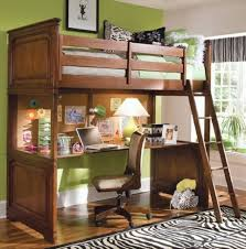 Wood Bunk Bed With Desk Underneath Plans | Home Design Ideas Regarding Bunk  Bed With Desk