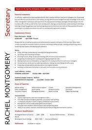 ... executive secretary resume sample ...