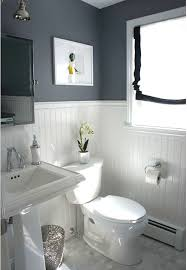 half bathroom ideas gray. Before And After: Updating A Half-Bath Laundry Half Bathroom Ideas Gray G