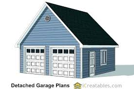 detached two car garage plans how much to build a two car garage with loft 2