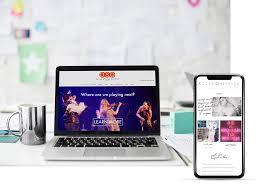 Custom Website Design Photobiz