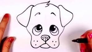 Dog Easy Cute Drawing Realistic