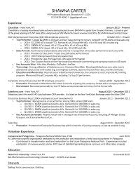 Sales resume template .