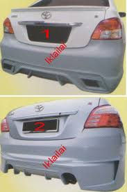 Toyota Vios '07-12 REAR Bumper [AURI (end 10/8/2018 1:02 PM)