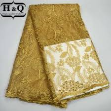 H&Q <b>Hot Sale</b>!High Quality African Mesh Lace Fabric African Fabric ...