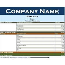 Sample Personal Budget Templates Sample Budget Template Excel Buildingcontractor Co