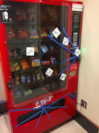 Twitter Powered Vending Machine New Gaylord Vending Machine Currently Housing Mouse To Be Removed News