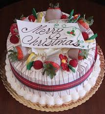 Ch 007 Display Gold Cake With Lemon Raspberry Filling Christmas
