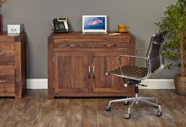 hidden home office. Shiro Walnut Hidden Home Office D