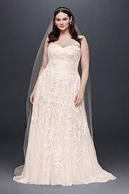 light pink blush wedding dresses david s bridal