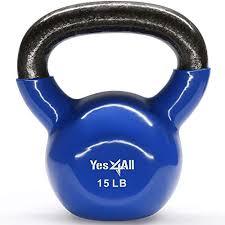 Kettlebell Sizes Chart Exercise Weights Kettlebell Amazon Com