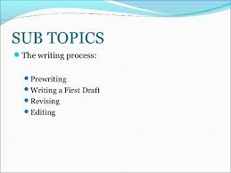 tutorial pre writing process essay format  pre writing process writing format 2