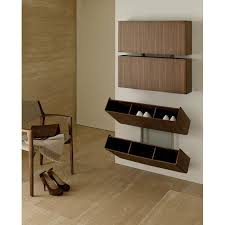 Wall Mounted Shoe Cabinet from Stylish Designers : Modern Room Design With  Laminated Wooden Floor To Siding Panel Also Added With Stylish Mounted Wall  Shoe ...
