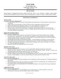 Human Resources Resume Template Amazing Human Resources Resume Templates Entry Level Director Of Charming Hr