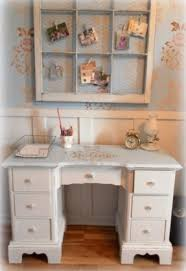 shabby chic home office. wonderful chic a master bedroom update an upcycled home office nook in shabby chic e