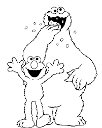 Small Picture Animations A 2 Z Coloring pages of Sesame street
