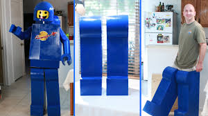 how to make an awesome lego man costume legs lego benny you
