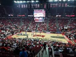 Unlv Rebels Basketball Seating Chart Thomas And Mack Center Section 105 Rateyourseats Com