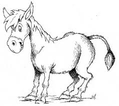 Small Picture Donkey coloring page Animals Town animals color sheet Donkey