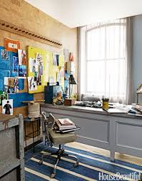 designer home office. In The 2012 Designer Visions Apartment Designed By David Rockwell, Cork Flooring Covers One Wall Home Office E