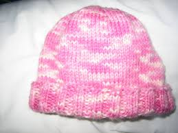 Knit Baby Hat Pattern Circular Needles Interesting Notes From The Slow Lane Hannah's Baby Hat