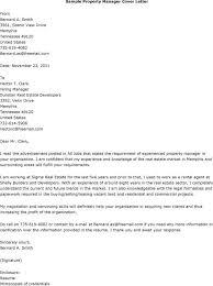 Apartment Manager Cover Letter Sample Lezincdc Com