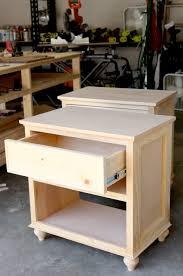 Diy Nightstand How To Build Diy Nightstand Bedside Tables