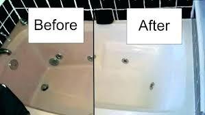 bathtub fiberglass shower repair kit almond chip tubs l tub