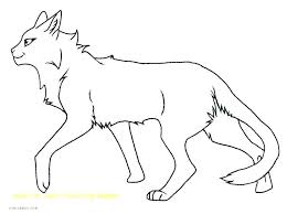 Warrior Cat Coloring Pages Awesome Attractive Anime Warrior Cat